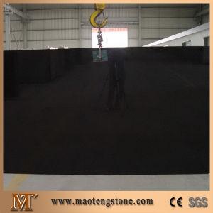 Tiles Slabs Countertops Sparkle Black Artifical Quartz Stone pictures & photos