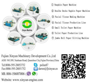 High-Speed Automatic Box Drawing Facial Tissue Paper Production Line pictures & photos