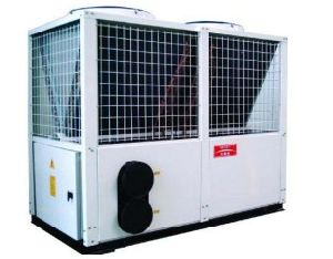 Modular Type Air Source Heat Pump for Low Ambient Temperature (Bright)