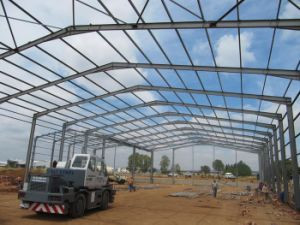 Prefabricated Steel Structure Workshop (SSW-428) pictures & photos