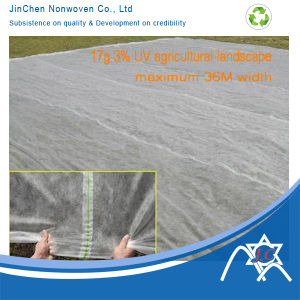 Extra Width PP Spundonded Nonwoven Fabric for Agriculture Cover pictures & photos