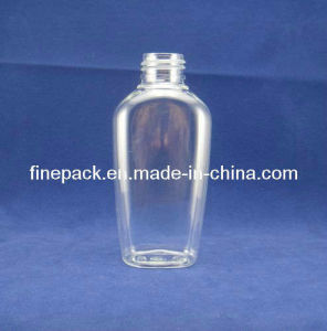 4oz/120ml Flat Pet Cosmetic Bottle (FPET120-F)