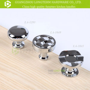 High Quality Zinc Alloy Chrome Kitchen Cabinet Drawer Knobs pictures & photos