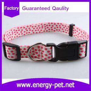 Fashion Dots Prints Pet Supply Dog Collars pictures & photos