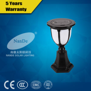 Solar Energy LED Post Light with CQC Certification pictures & photos