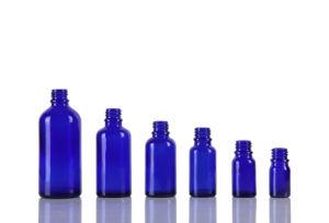 Cobalt Blue Glass Bottle pictures & photos