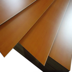 Top Quality Melamine Faced Plywood for Furniture and Decoration pictures & photos