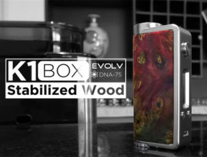 2017 New Kanger K1 Box 75W Evolv DNA-75 Cell pictures & photos