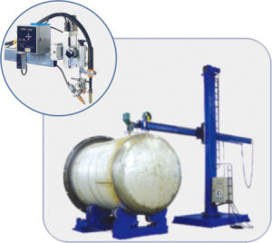 Steel Vessel Seam and Flange Welding Manipulator pictures & photos