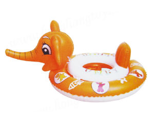 Inflatable Animal Head PVC Swim Ring (ZS-05003)