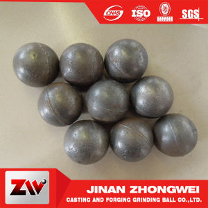 Cement Plant Special Use Middle Cr Casting Iron Ball pictures & photos