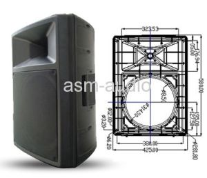 "12"" 2-Way Active/PA Speaker Box/Plastic Speaker/Cabinet pictures & photos"