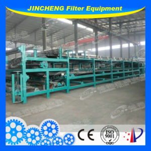 Horizontal Vacuum Belt Filter Press in Sludge Dewatering (DU2000)