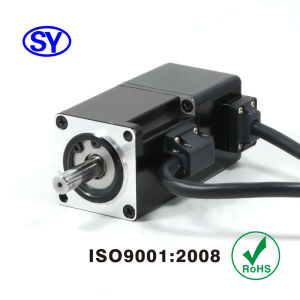 50W AC Servo Electrical Motor for Induction Machine (40SV050AB25B) pictures & photos