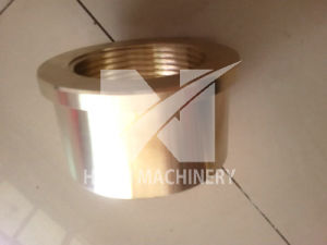 Cylinder Machining Parts Copper Bronze Round Nuts pictures & photos