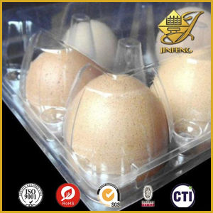 PVC Blister Film in Roll for Eggs Packaging pictures & photos