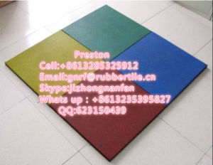 Kindergarten Playground Flooring Excecise Rubber Mat pictures & photos