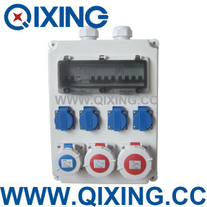 Combination Socket Box (QCSM-03) pictures & photos