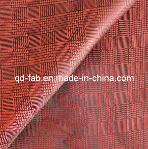 Beautiful Yarn Dyed Red Jacquard Fabric (JF-3) pictures & photos