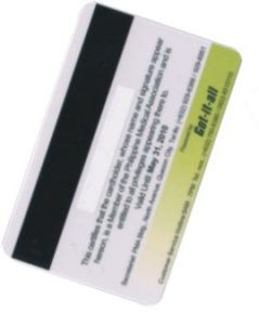 RFID Magnetic Stripe Smart Card With HICO 4000OE