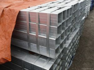 Hollow Section Galvanized Square Steel Tube pictures & photos