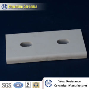 Chemshun Ceramics Alumina Weld on Tile with Two Holes Supplier pictures & photos