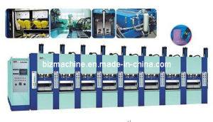 EVA Slipper Foaming Injection Molding Machine 8stations pictures & photos
