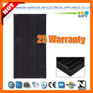 290W 156*156 Black Mono-Crystalline Solar Module pictures & photos