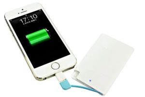 Plastic Credit Card Power Bank 4000mAh Customized Logo Available (OM-PW174) pictures & photos