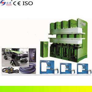 Jaw V-Belt Flat Vulcanizing Machine (XLE-Q400X200) with CE, ISO pictures & photos
