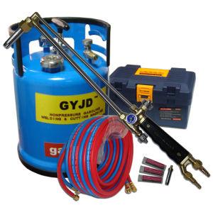 Non-Pressure Oxy-Gasoline Flame Steel Cutting Machine Scrap Steel Demolishing Tool