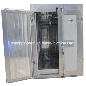 Manual Powder Coating Curing Oven with Overhead Conveyor pictures & photos
