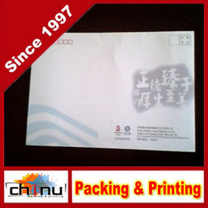 Deluxe Gold Stamping Promotional Printing Envelopes / Stationery (4418) pictures & photos