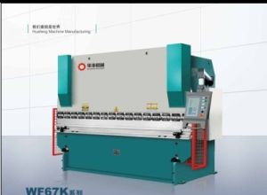 Hydraulic NC Press Brake Machine (WF67K(WC67K)-100T/3200) pictures & photos