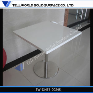 Stainless Table Base Artificial Marble Coffee Table Top pictures & photos