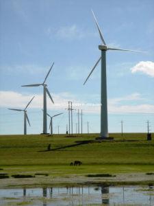 Wind Power Generated Steel Tower