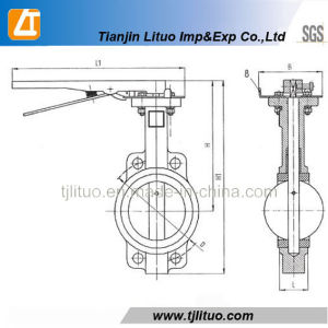Good Quality at Cheap Price Valves /Butterfly Valves Dn65 pictures & photos