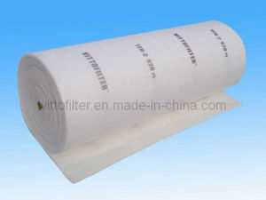 Exhaust Filter Media (560G/520G) Polyester Ceiling Filter Industrial Dust Cleaning Air Filter pictures & photos
