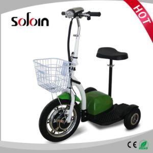 Mobility Balance 3 Wheel Foldable Brushless Motor Electric Street Scooter (SZE500S-3) pictures & photos
