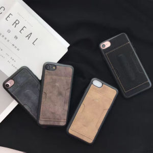 Cell Phone Case PU Leather Case for iPhone pictures & photos
