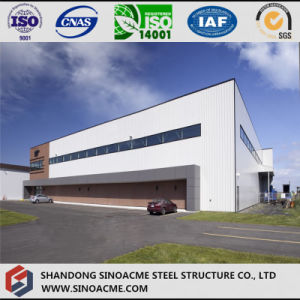 Large Span Steel Structure Aircraft Hangar with Full Length Door pictures & photos