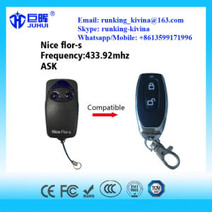 Compatible Nice Flor-S Rolling Code Remote Control 433.92MHz pictures & photos