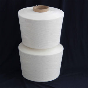 45/1 Raw White 100% Spun Polyester Yarn pictures & photos