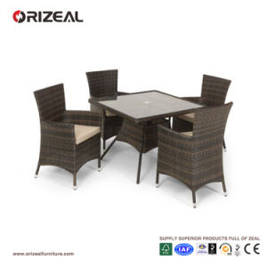 Outdoor Rattan 4-Seater Square Dining Set Oz-Or060 pictures & photos