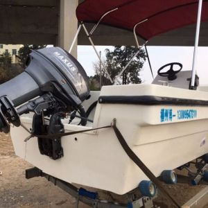 18FT FRP Outboard Type Center Console Fishing Boat Hot Sale pictures & photos