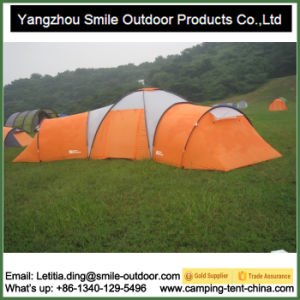 12 Person Big Family Garden All Weather 3 Room Camping Tent pictures & photos