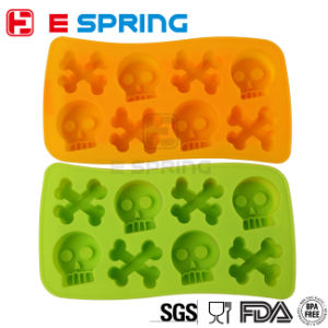 Food Grade Creative Silicone Human Skeleton Cake Mold Baking Tools pictures & photos