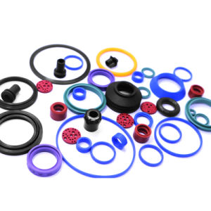 NBR EPDM FKM PU Soft Silicone Rubber Seal Ring pictures & photos
