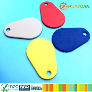 New MIFARE DESFire EV1 2K Nylon RFID keychain Keyfob tag pictures & photos
