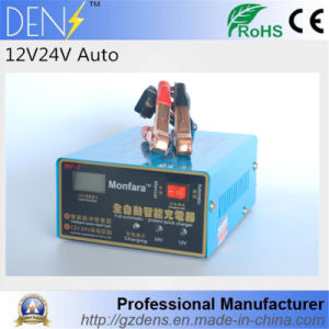 12V/24V 100ah Electric Intelligent Pulse Repair Type Full Automatic Battery Charger pictures & photos